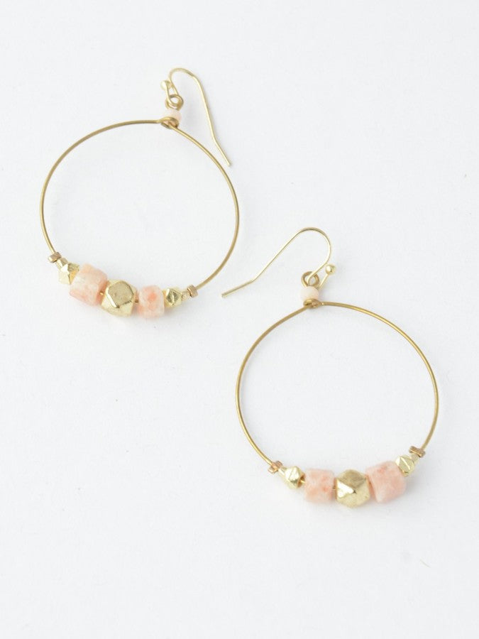 Sand Glass Earrings - Small Things Fair Trade