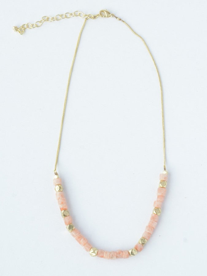 Sand Glass Necklace - Small Things Fair Trade