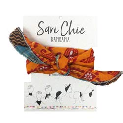 Sari Chic Bandana - Small Things Fair Trade