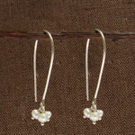 Petite Pearl Trio Earrings - Small Things Fair Trade