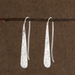 Dimpled Drop Earrings - Small Things Fair Trade