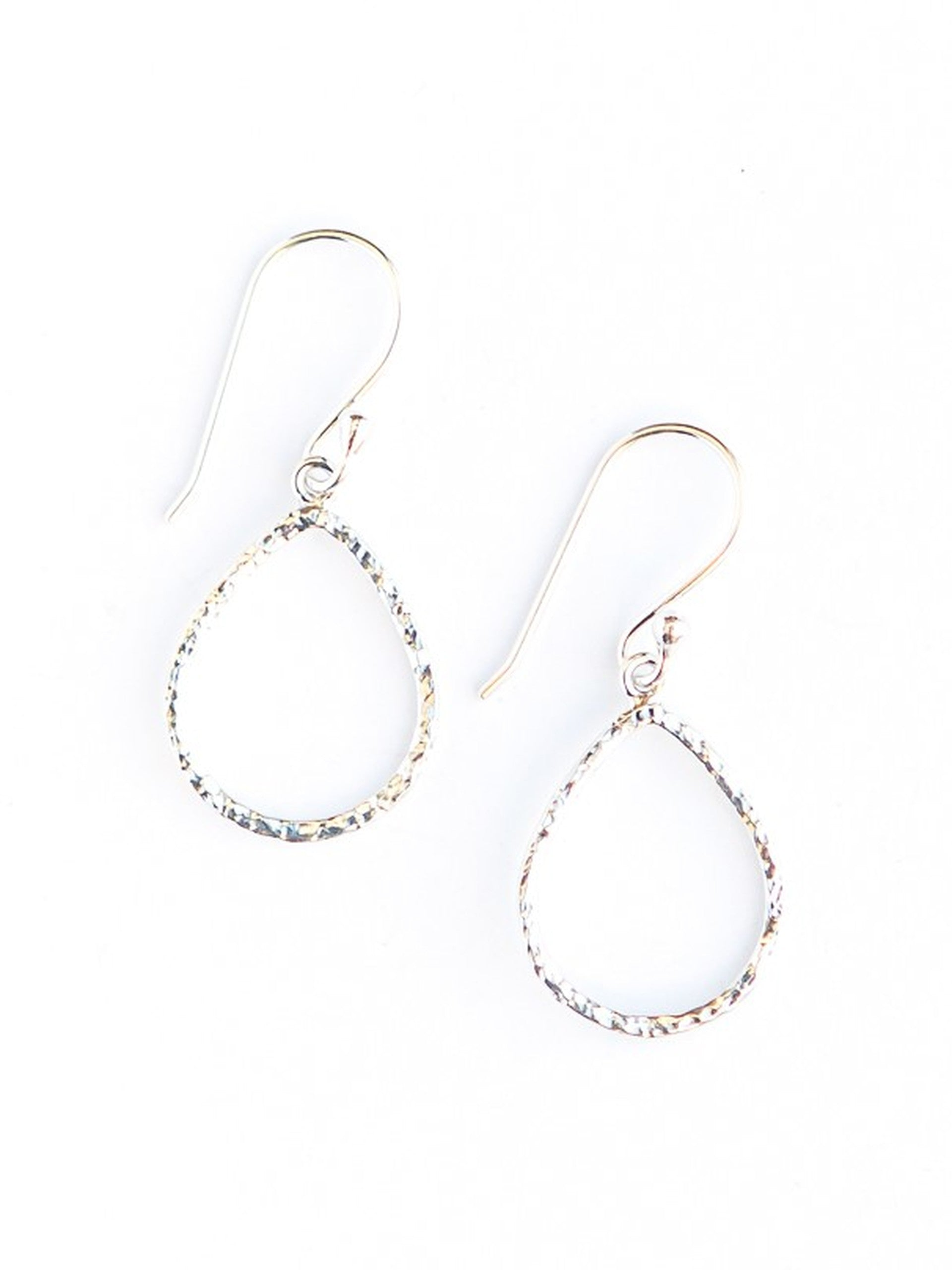 Lorena Loop Earrings - Sterling