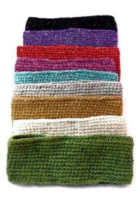 Hemp Knit Headband (lined) - Small Things Fair Trade