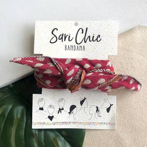 Sari Chic Bandana - Cotton