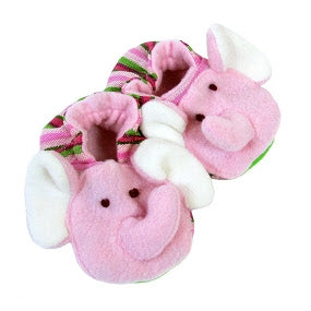 Elephant Baby Booties - Small Things Fair Trade