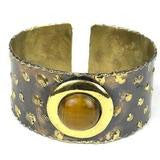 Tiger Eye Cougar Cuff - Small Things Fair Trade