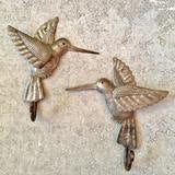 Bird Wall Hooks (pair) - Haiti - Small Things Fair Trade