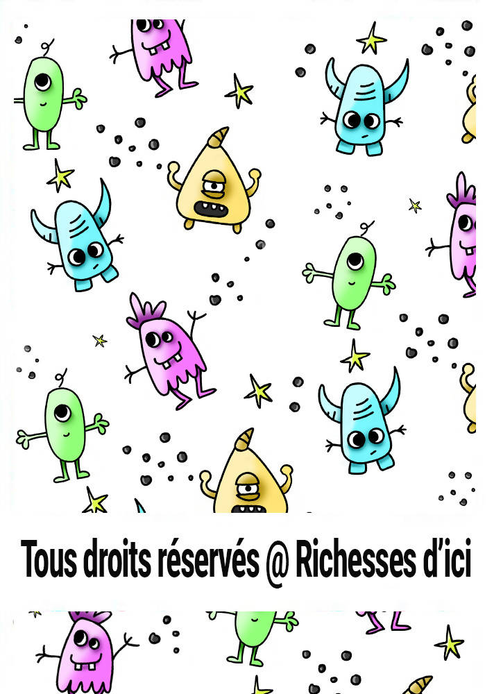 Tissus | Petits monstres | Richesses d'ici