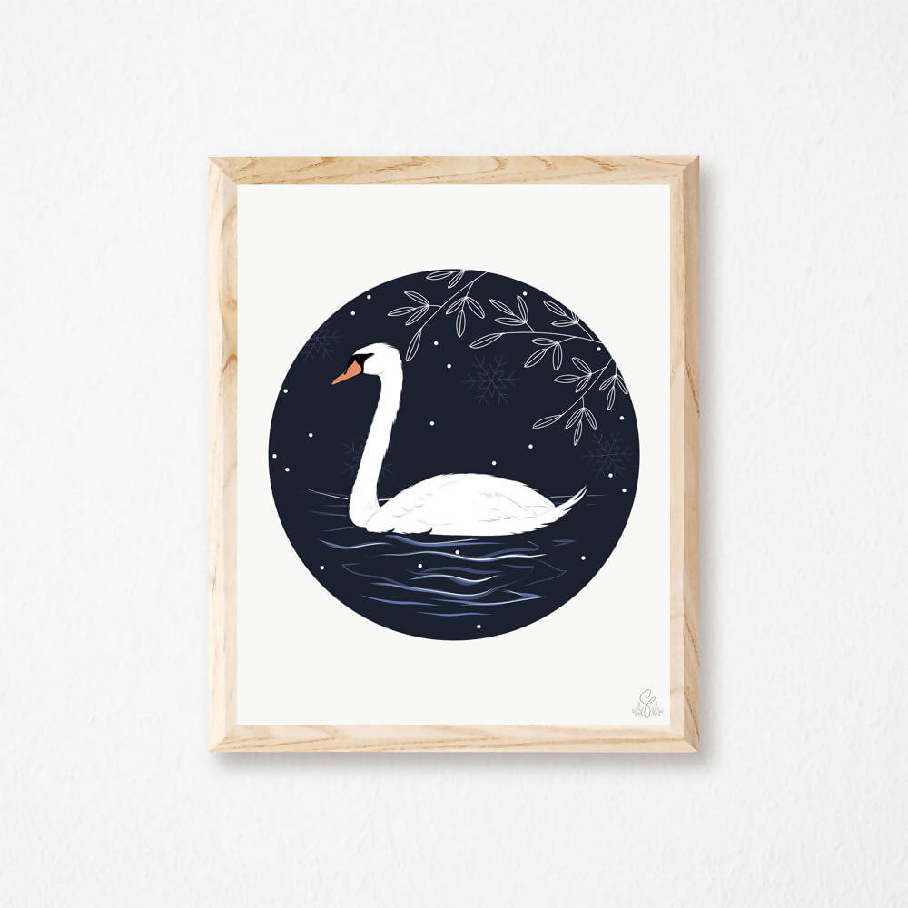Illustration Cygne