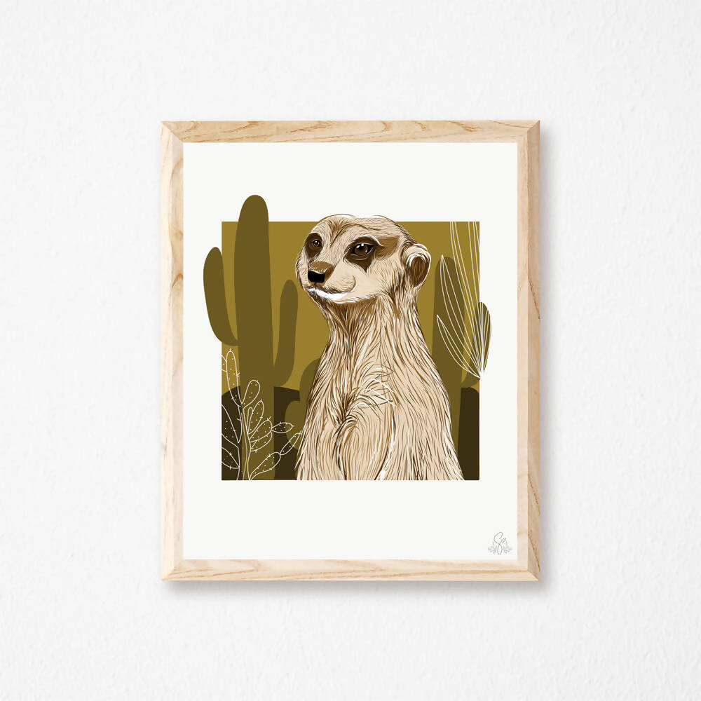Illustration Suricate