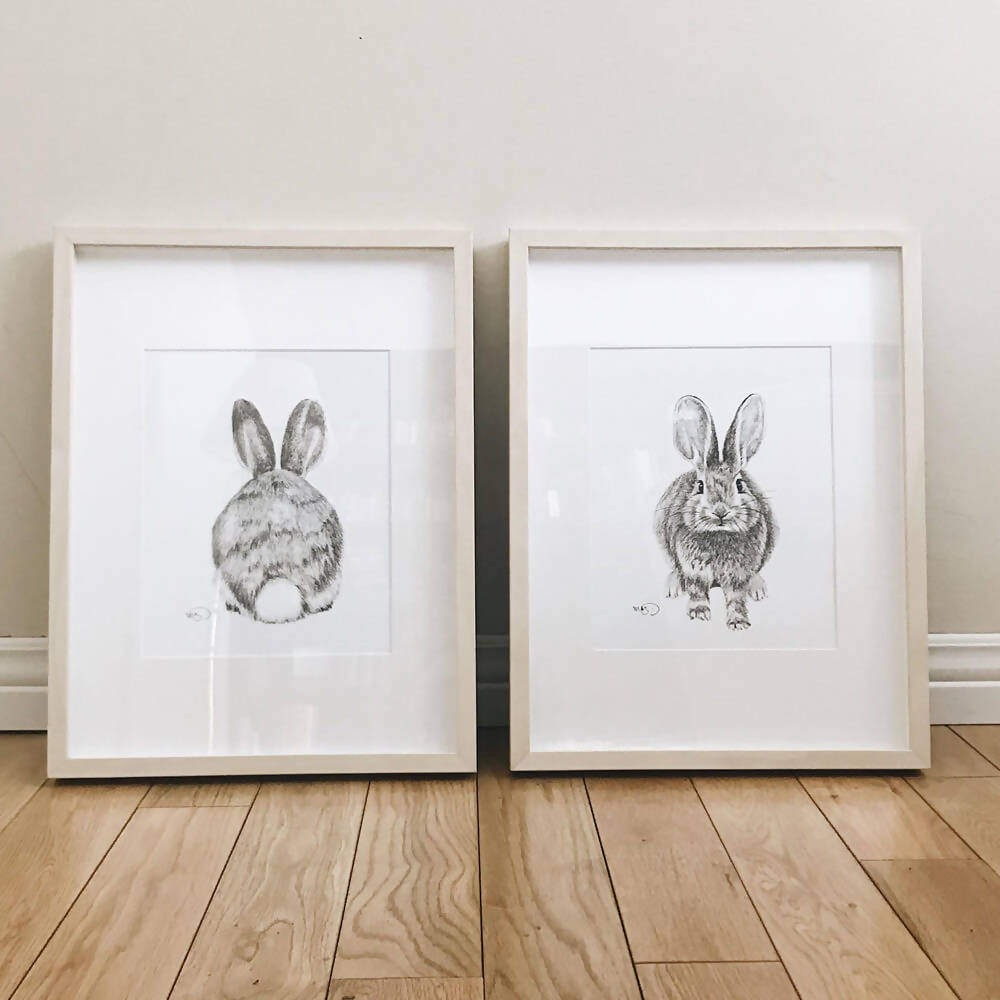 Affiche Lapin | Duo