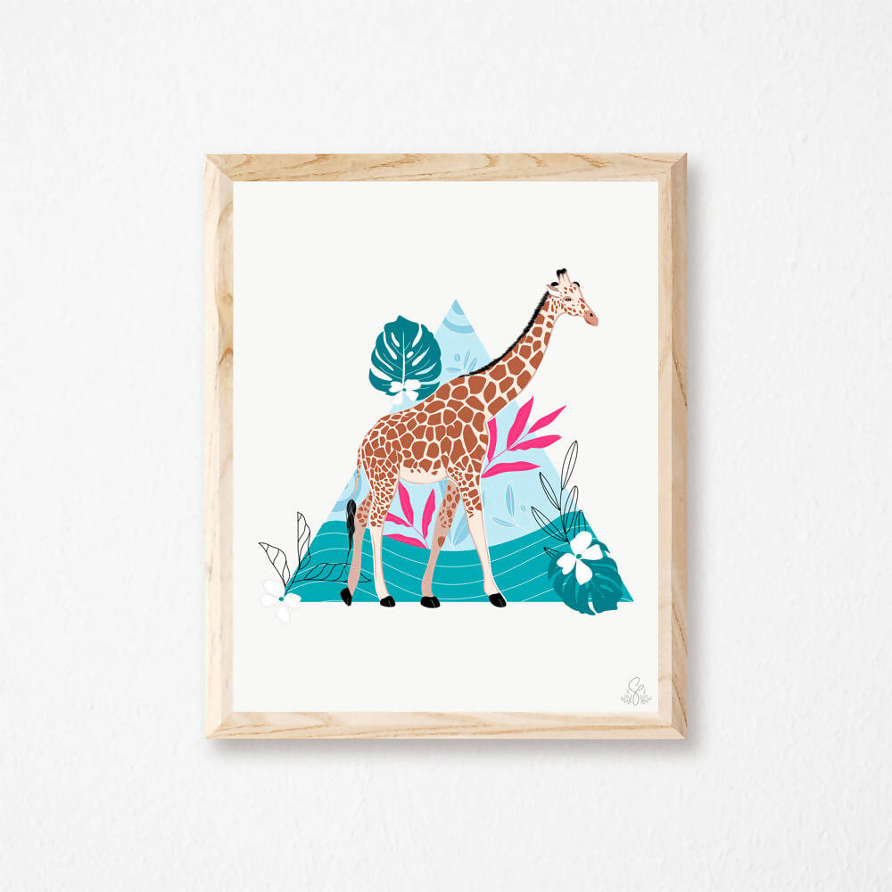 Illustration Girafe