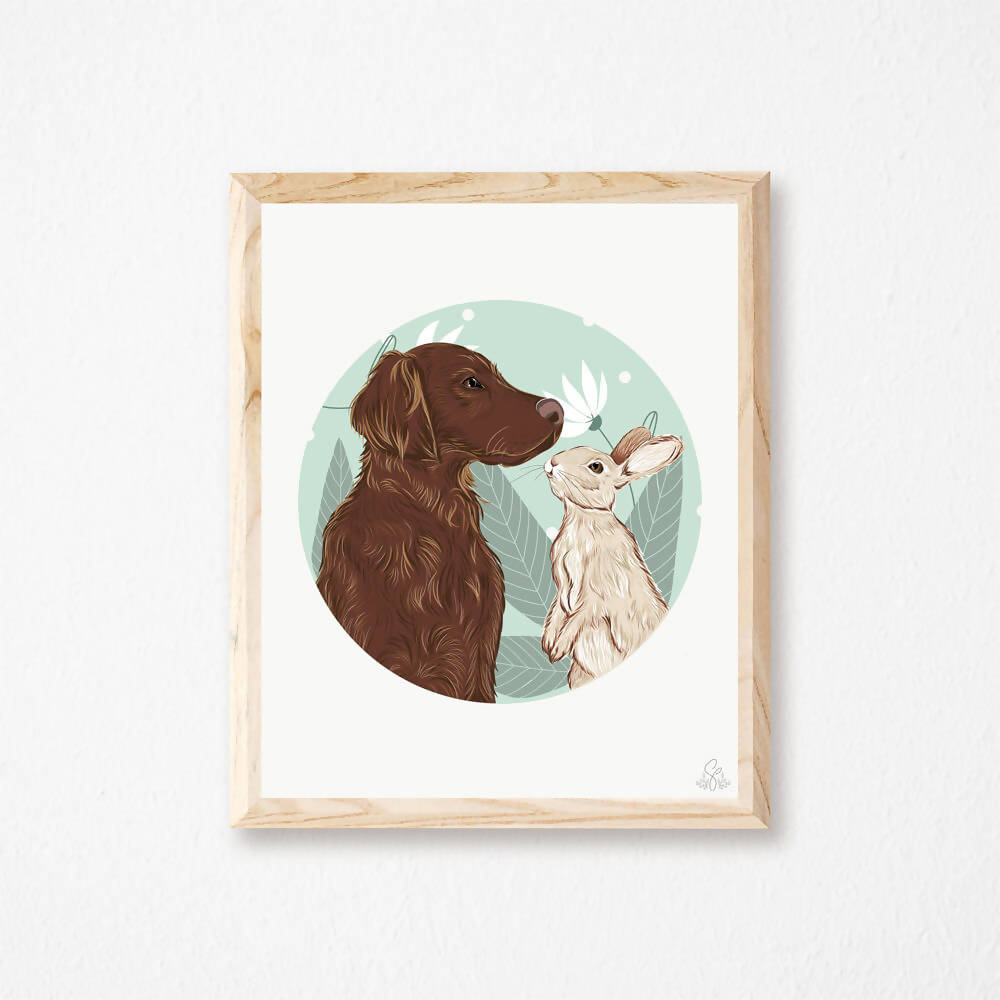 Illustration Labrador