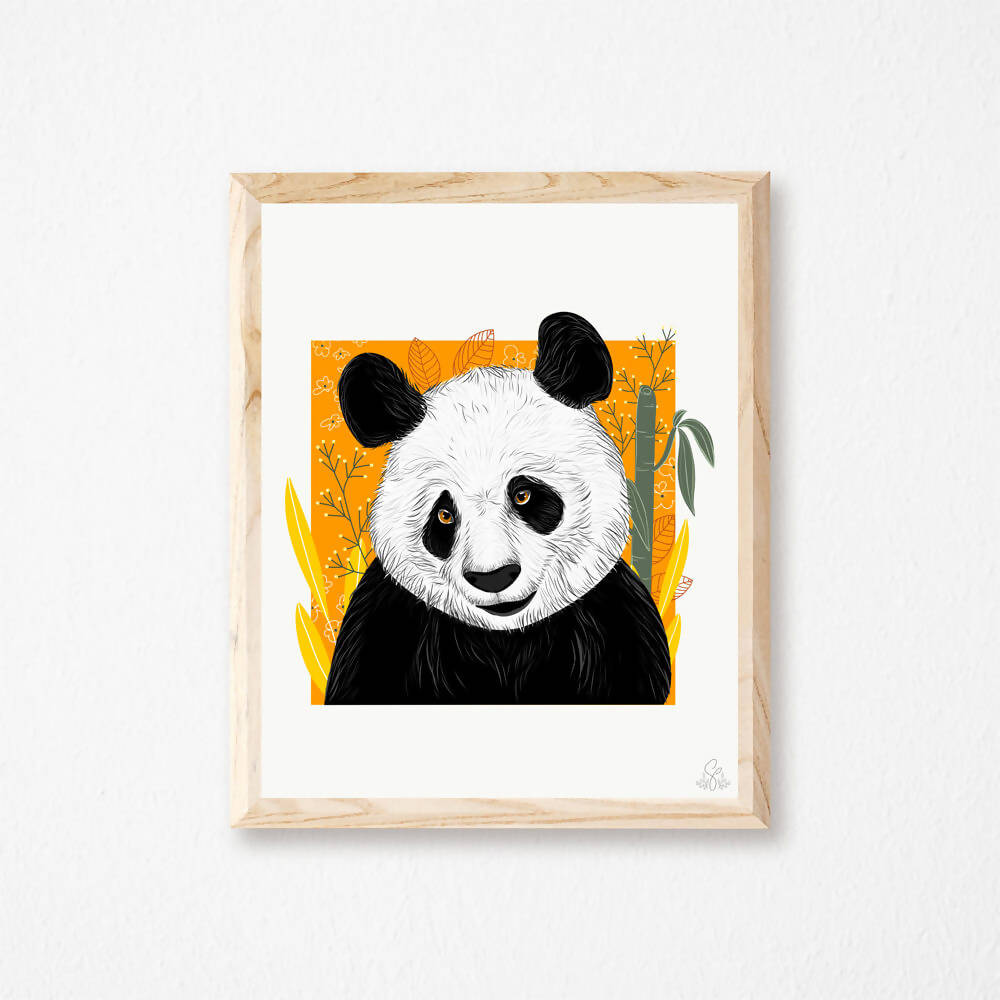 Illustration Panda