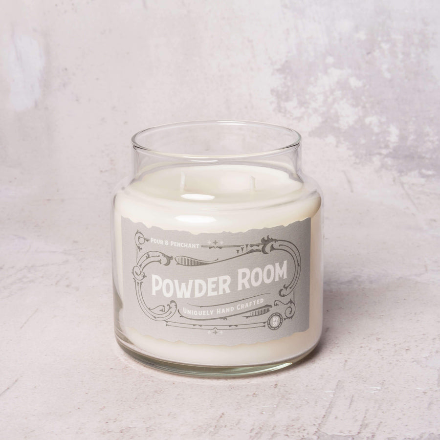 Pour & Penchant Double-Wick Scented Candle POWDER ROOM no.59