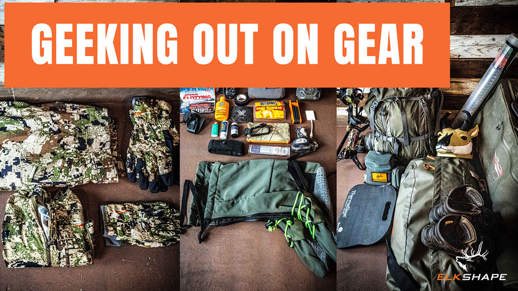 The GEAR we use to hunt early season ARCHERY