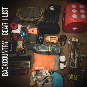 ElkShape Backcountry Gear List | Mobile Elk Hunting
