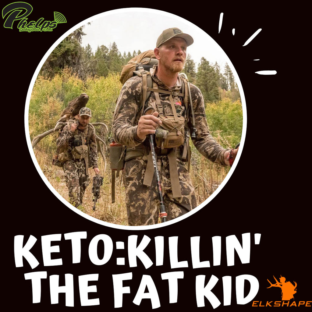 ElkShape Podcast EP 54 - Phelps, Keto, & Killin' the Fat Kid