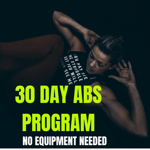 30 Day Ab Program (no equipment)