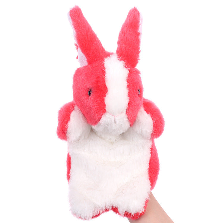 Children S Hand Puppet Cute Bunny Plush Toys Early Education Toys