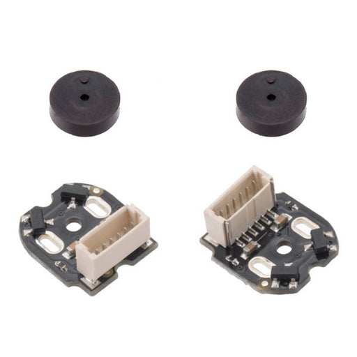 Magnetic Encoder Pair Kit with Top-Entry Connector for Micro Metal Gearmotors, 12 CPR, 2.7-18V