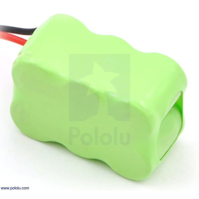 Rechargeable NiMH Battery Pack: 7.2 V, 150 mAh, 3x2 1/3-AAA Cells, XH Connector