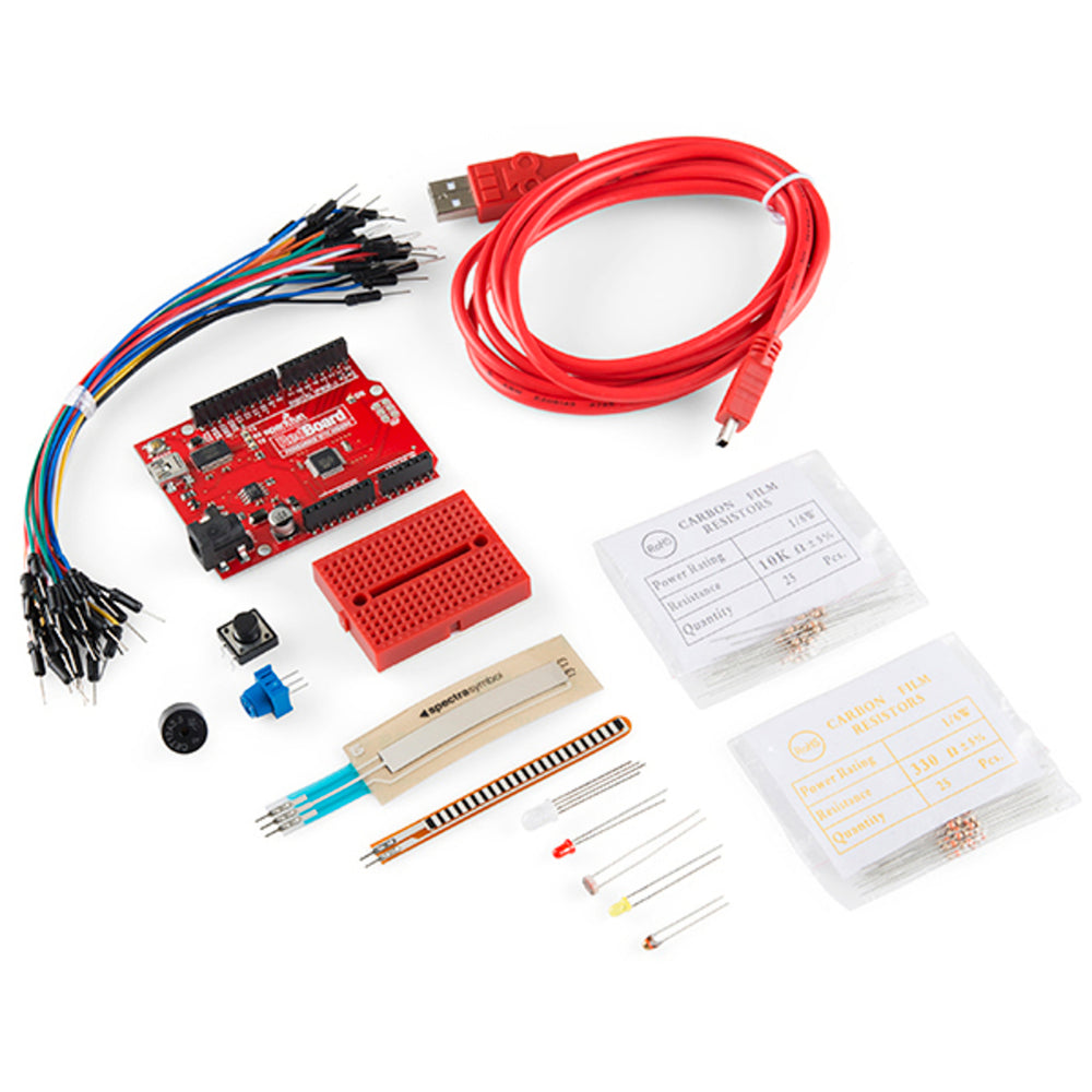 SparkFun Starter Kit for Arduino-Compatible RedBoard
