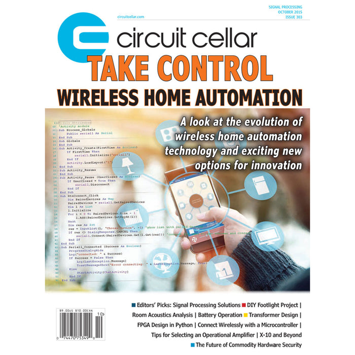 Free Circuit Cellar magazine October 2015