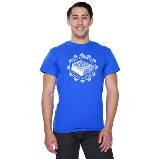 Pololu Zumo T-Shirt: Royal Blue, Adult XXXL