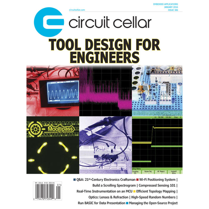 Free Circuit Cellar magazine January 2016