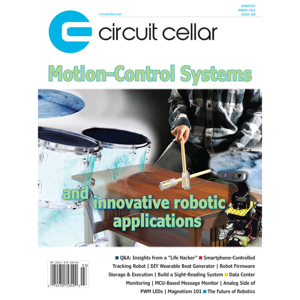 Free Circuit Cellar magazine March 2016