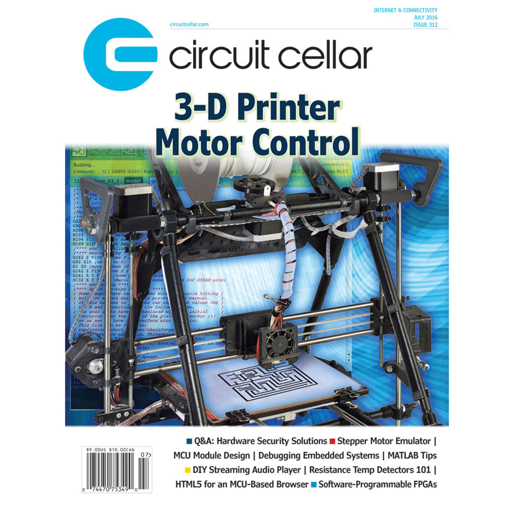 Free Circuit Cellar magazine July 2016