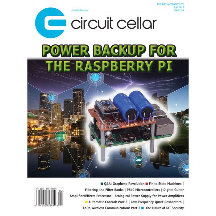 Free Circuit Cellar magazine July 2017