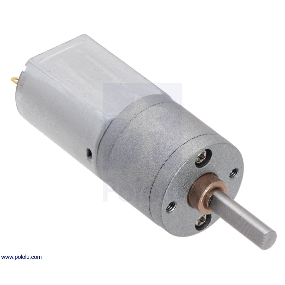 63:1 Metal Gearmotor 20Dx43L mm 12V CB