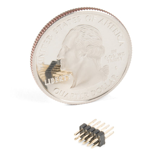 Header - 2x5 Pin (Male, 1.27mm)