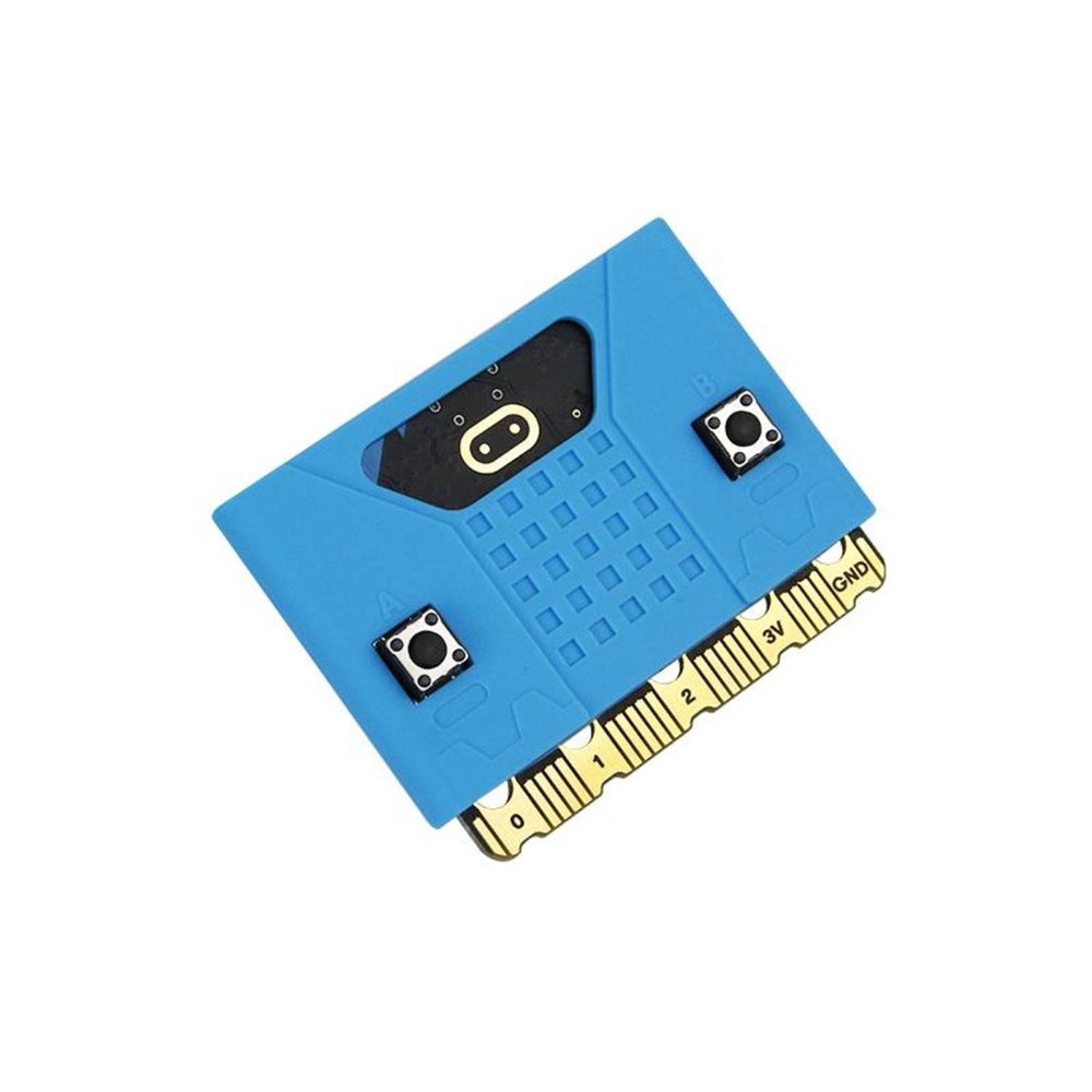 Micro:bit silicone case compatible with V1.5/ V2 board - Blue