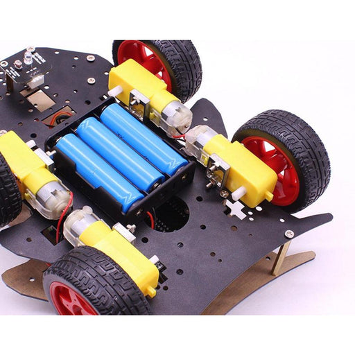 Yahboom 4WD Uno R3 smart robot compatible with Arduino