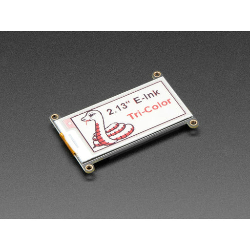"Adafruit 2.13"" Tri-Color eInk / ePaper Display FeatherWing - Red Black White"
