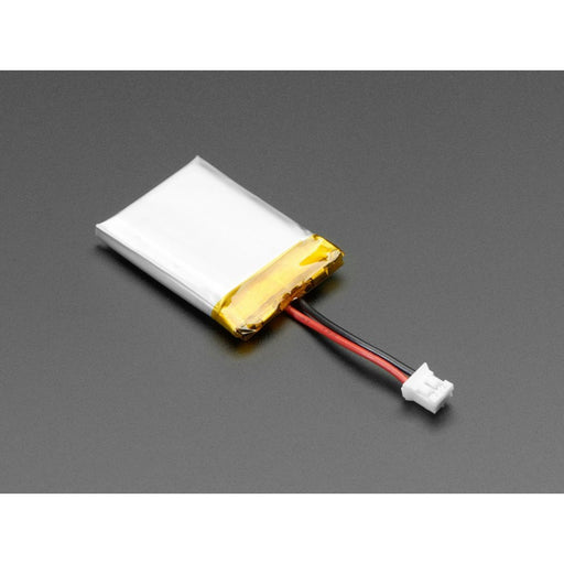 Lithium Ion Polymer Battery with Short Cable - 3.7V 420mAh