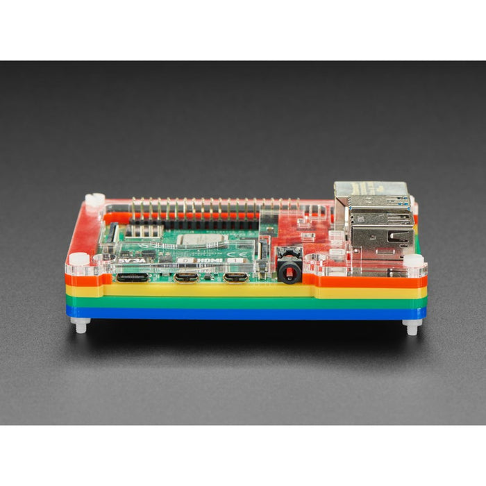 Rainbow Pibow Coupé 4 for Raspberry Pi 4