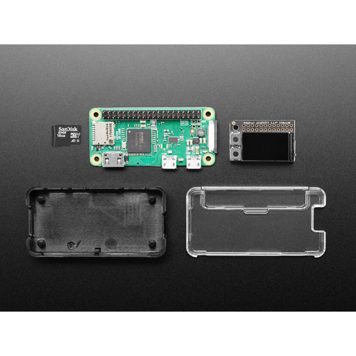 Mini Color PiTFT Ad Blocking Pi-Hole Kit - No Soldering!