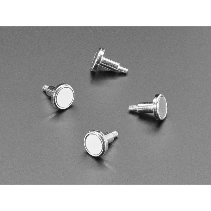 Mini-Magnet Feet for RGB LED Matrices (Pack of 4)