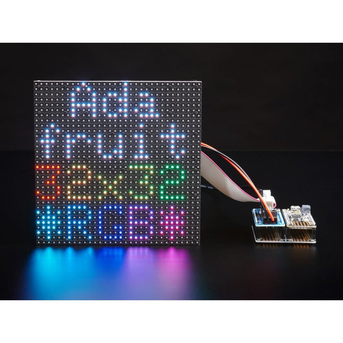 Adafruit RGB Matrix FeatherWing Kit - For nRF52840 Feathers