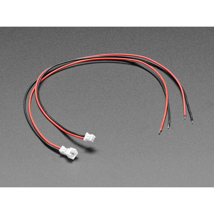 1.25mm Pitch 2-pin Cable Matching Pair - 40cm long - Molex PicoBlade Compatible
