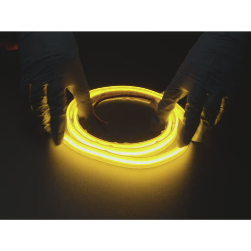 Flexible LED Strip - 352 LEDs per meter - 1m long - Yellow