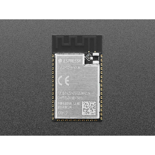 ESP32-S2 WROOM Module with PCB Antenna - 4 MB flash and no PSRAM - 4MB Flash