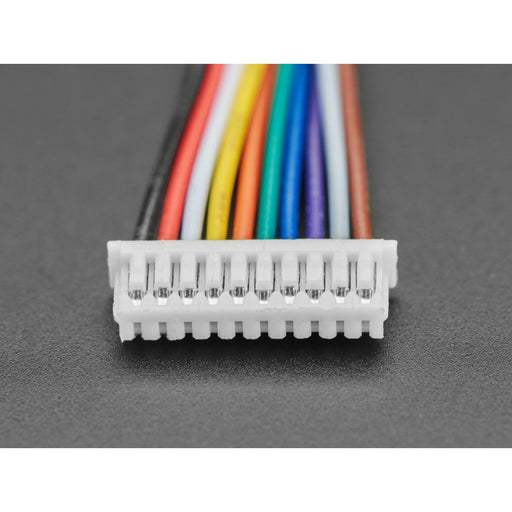 1.25mm Pitch 10-pin Cable 20cm long 1:N Cable - Molex PicoBlade Compatible