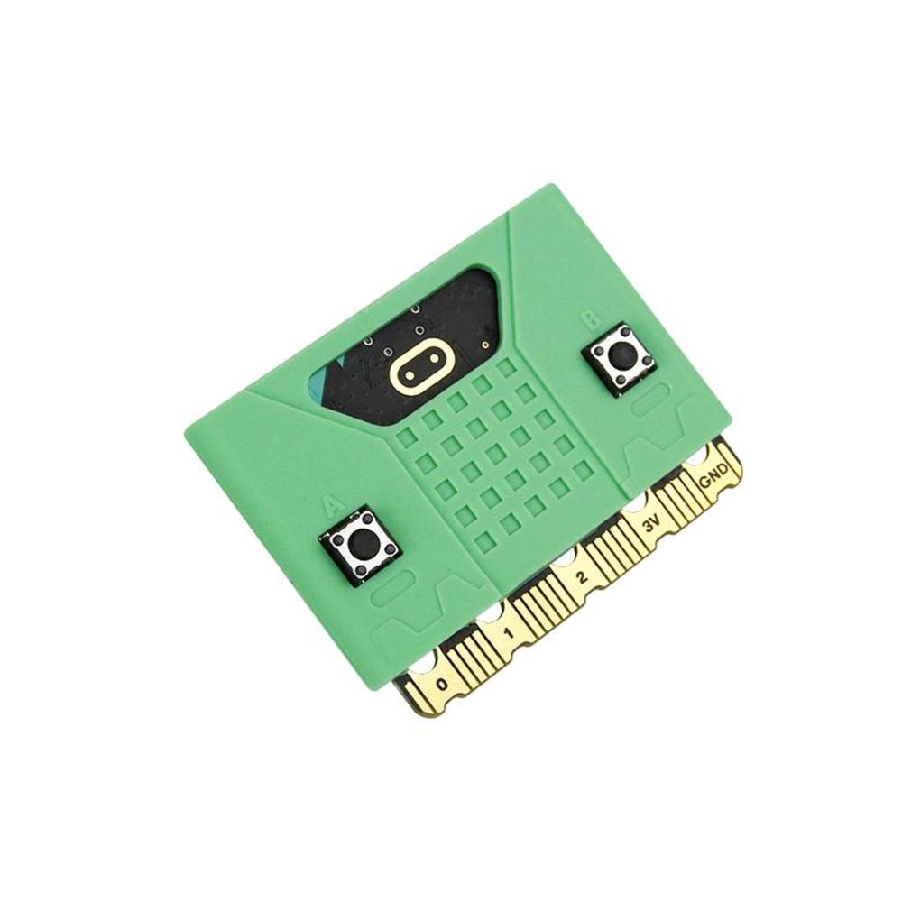 Micro:bit silicone case compatible with V1.5/ V2 board - Green