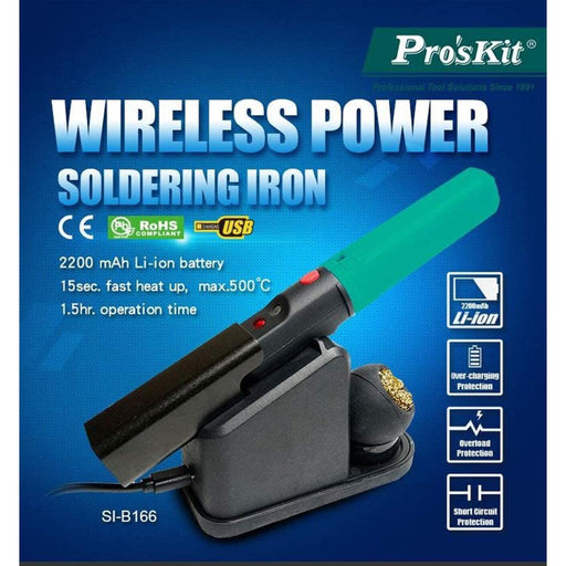 Wireless Charging Soldering Iron Kit