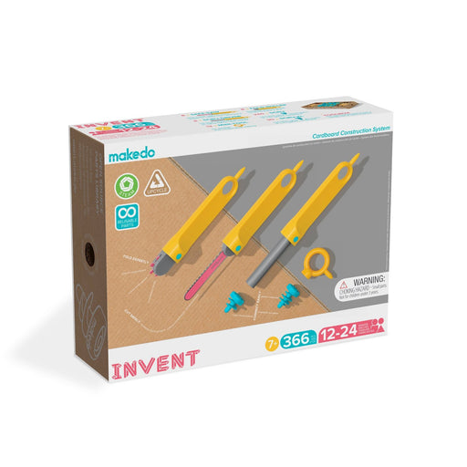Makedo INVENT Kit 366 parts